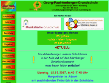 Tablet Preview of ambergerschule-nuernberg.de